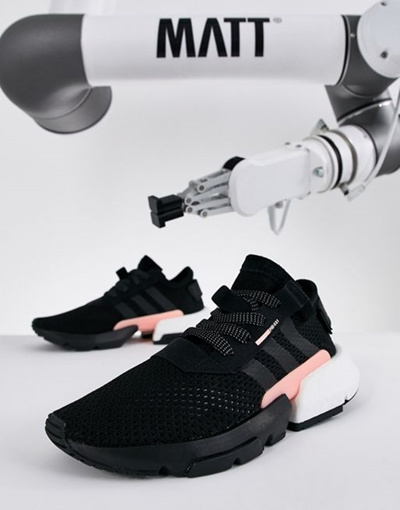 adidas Originals Pod S3.1 Sneakers In Black And Pink