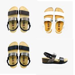 Heels Ladies: Clásico Altos Atrás Dos Correa (available in Brown // Black // White)