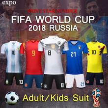 2018 world cup sports wear/football jersey/Russia / Argentina / Spain / Germany / Italy / Brazil