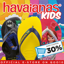 [30% Off Storewide Promotion!] Havaianas Singapore Official E-Store Kids Flip-Flops