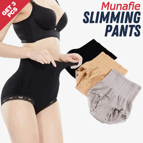 GET 3 PCS MUNAFIE SLIMMING PANTS ALL SIZE N GOOD QUALITY Deals for only Rp60.000 instead of Rp80.000