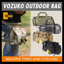 ORIGINAL VOZUKO OUTDOOR BAG**Military**Tactical**Drop Leg Pouches**Waist Sling Bag Pouch**ARMY/POLIC