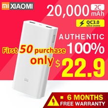 🌟100%Authentic Xiaomi 🌟10000mAh New  / 20000mAh 🌟Big Capacity Powerbank Fast Charger