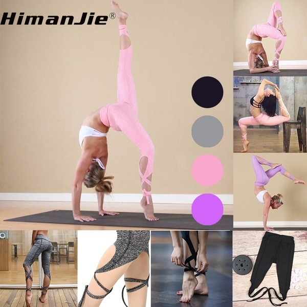 81759b8496a4a fit to viewer. prev next. Yoga Dance or Ballet Spirit Bandage Workout  Infinity Turnout Leggings Pants