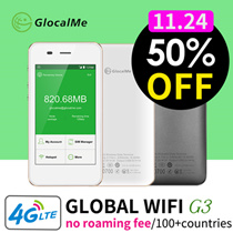 【Black Friday Special】Global Portable WiFi Device 4G LTE High Network Speed No-Roaming fee Free UPS