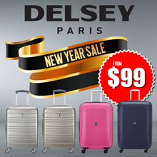 ❅NEW YEAR SALE❅ DELSEY PARIS Premium Luggage Collections