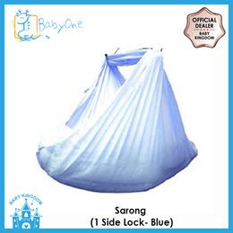 BabyOne Sarong (1 side lock)(Blue)