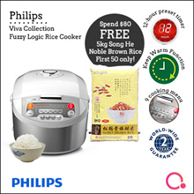 Viva Collection Fuzzy Logic Rice Cooker HD3038/62  (New Launch special!!!!)2 years warranty