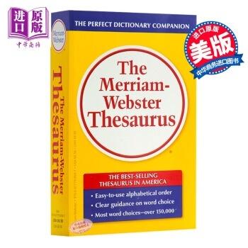 The original]The Merriam-Webster Thesaurus [English Webster synonyms  English English Dictionary
