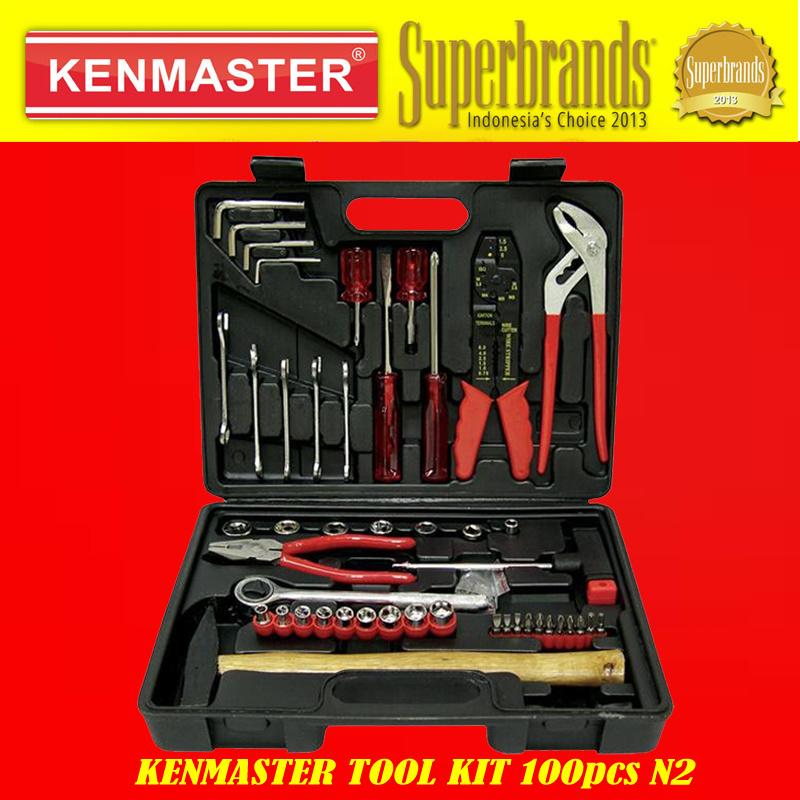 7 Kenmaster Tool Kit 100pcs N2 C6z0yyz0