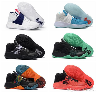new product 582bb f444f 2016 Cheap Kyrie Irving Men Basketball Shoes Kyrie 2 Bright Crimson Tie Dye  BHM All Star