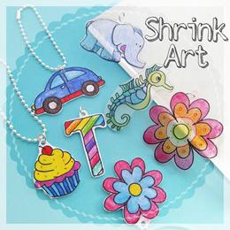 Shrink art plastic/ DIY craft supplies