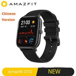新的iOS小米Amazfit GTS智能手表5ATM防水游泳电池音乐中文版