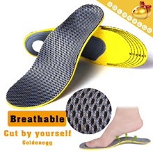 Tailorable ▶Breathable and soft material orthotic insoles◀GBE GDD Arch support/ Human body engineering/ prevent feet odour-Reduce feet fatigue while walking