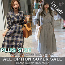 ♥Buy Get Free Gift♥12nd Sep Update New Arrivals ♥Korean Style♥ Linen / Casual Dress / LOOSE Fit  / Dress / Plus Size