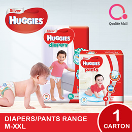 [Kimberly Clark] 1 x CARTON SALE: Huggies Silver Diapers/ Pants
