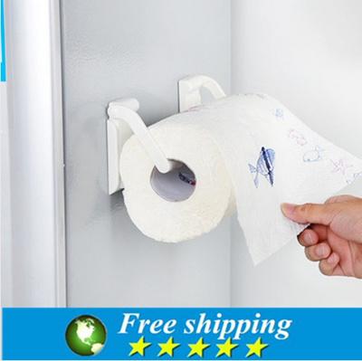 Magnetic Refrigerator Paper Towel Holder Kitchen Towel Rack