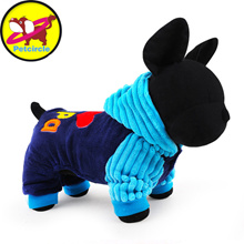 2017 Petcircle Fashion I love papa and mama winter Pet Dog Clothes Clothing For Pet Small Large Dog