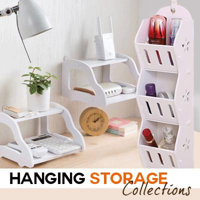 Rak Dinding Desktop Storage / Decorative Hanging Rack Deals for only Rp68.500 instead of Rp68.500