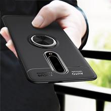 Oneplus 7 Pro Case Finger Ring Magnetic Bracket Back Cover