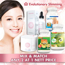 ANY 2 FOR NETT PRICE! 1+1 WEIGHT LOSS BEST SELLER! GET UR 2 FAVORITES FOR JUST 1 PRICE SUPERSAVING
