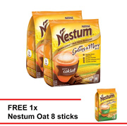 NESTUM 3in1 Chocolate  15x28g  Buy 2 Free 1 Nestum Oats 8 sticks