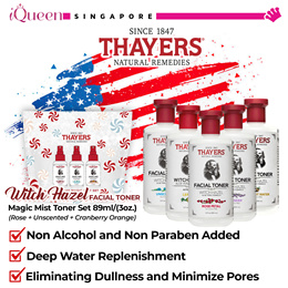 【 Thayers 】♥ Facial Toner Series 355ml ♥ Magic Mist Toner Set 89ml(Rose + Unscented + Cranberry)