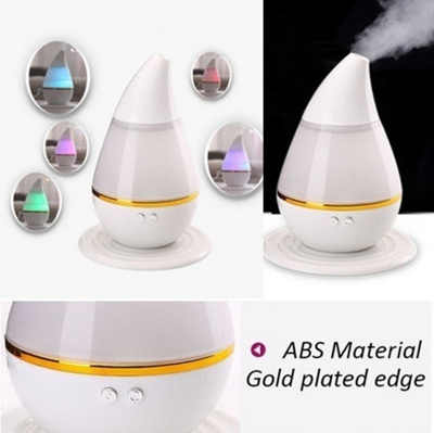 Muticolour USB Ultrasonic Home Aroma Humidifier Air Diffuser Purifier Lonizer Atomizer 250ml