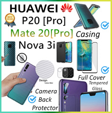 Huawei♥Mate 20X♥Mate 20♥Mate 20 Pro♥Nova 3i♥P20 Pro♥P20♥Mate 10♥Pro♥Tempered Glass♥Casing♥Full Cover