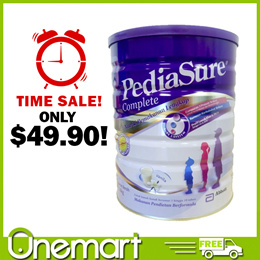 [Pediasure] 1.6kg Vanilla Milk Powder for 1-10 yo Picky Eaters (~Stage 4 Kids Formula) ★