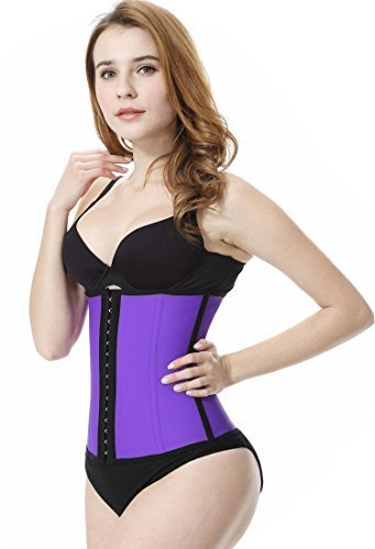 36be8779269 (Everbellus) Everbellus Latex Waist Trainer Corset Hourglass Body Shaper  for Women
