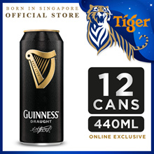 Guinness Draught Beer 440ml x 12 Cans