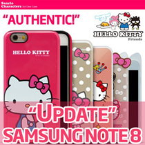 ★Authentic★Hello Kitty Case/Tempered glass/Cable/Powerbank★Galaxy Note 8/5S8/Plus/S7/Edge/iPhone7/6