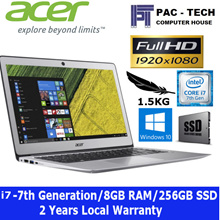[Brand New]Acer Swift 3 Laptop /i7-7thGen/8gb RAM/256GB SSD/14Inch FHD/1.5KG/2 Year Warranty