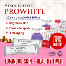 Kinohimitsu PROWHITE 2 x 60s (4MTHS SUPPLY) with 100% NATURAL MACQUI Berry extracts [Beautiful]
