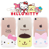 ★Authentic★Hello Kitty Friends Edge Case★iPhone X/8/7/6/S/Plus/Galaxy S8/Plus/S7/Edge/Note 8/5/LG G6