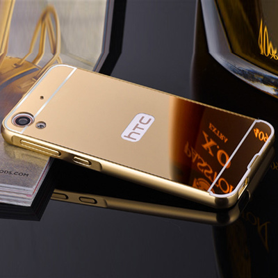release date 68130 56f06 HTC 828 D828 Back Cover HTC Desire 830 D830 Case Luxury Gold Plating Armor  Aluminum Metal Frame +