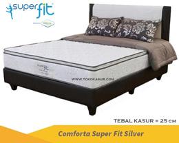 Super Fit Silver Kasur Springbed Free shipping jabodetabek ( Hanya Kasur )