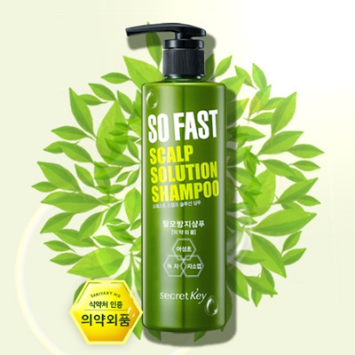 SECRET KEY - So Fast Scalp Solution Shampoo 500ml