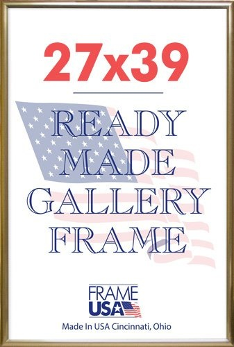 Qoo10 Deluxe Poster Frame Frames 27 X 39 Gold Stationery Supplies