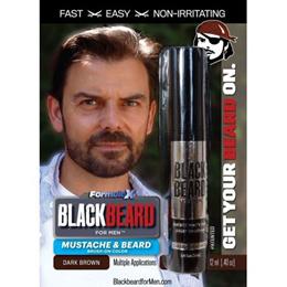 Blackbeard for Men - Dark Brown 1-Pack