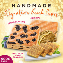 HAND MADE KUEH LAPIS 900g-Made In Singapore (Original/Prune/MaoShanWang Durian)