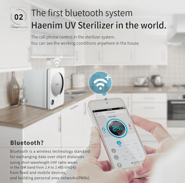 NEW 3G Haenim UV Steriliser w Bluetooth 4.1 from Korea Deals for only S$439 instead of S$439