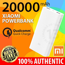 LOWEST PRICES ★ 100% Authentic Latest Xiaomi Mi PowerBank Portable Battery Quick Charger