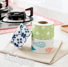 Singapore【2/SET】Electrostatic self-adhesive wall stickers kitchen sink stain toilet waterproof stick