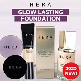 💖2020 NEW ARRIVAL💖 [HERA] GLOW LASTING FOUNDATION / BLACK FOUNDATION / BLACK CUSHION