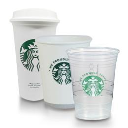 미국직배! 스타벅스 화이트 투명 카페 일회용 컵 (택1 - 50컵 / 100팩)
