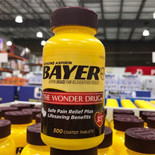 US Bayer Aspirin Genuine Bayer Aspirin 325 mg 500 Coated Tablets