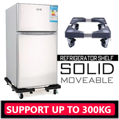 ★Movable Base★ Heavy Duty Appliance Trolley Washing Machine Stand / Fridge base