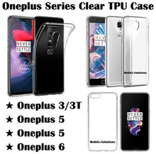 OnePlus 6 / 6T ★ OnePlus 5 / 5T ★ OnePlus 3 / 3T ★ Clear / Transparent TPU Case / Anti Water Marks
